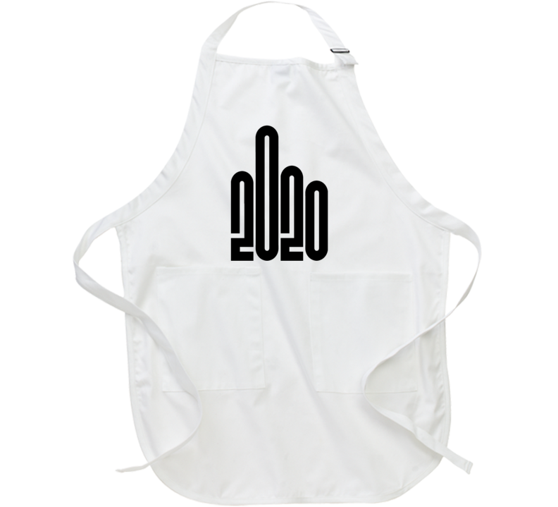 If 2020 Was A Logo Giving The Finger Funny Bad Year Apron