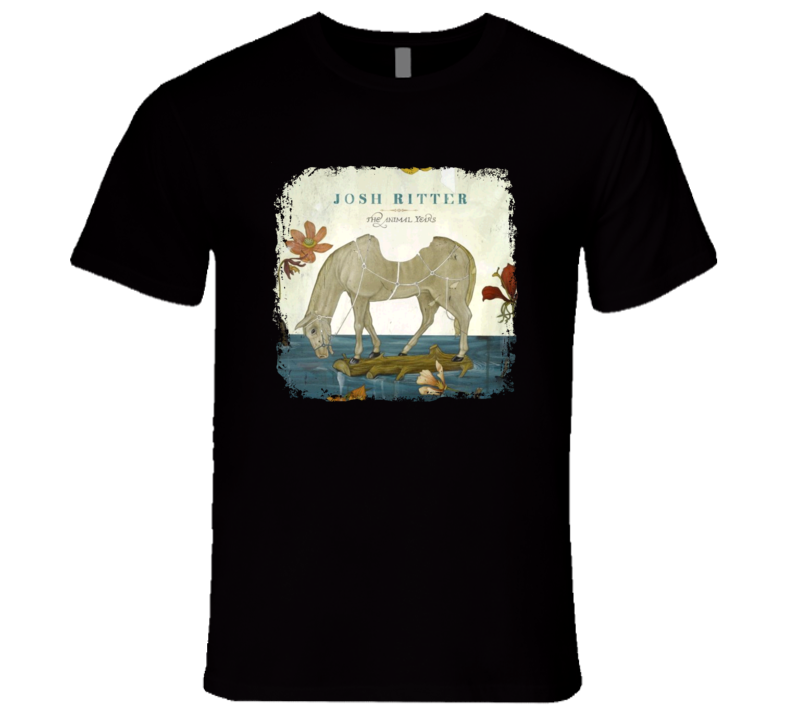 Josh Ritter The Animal Years Great Country Album Cool Worn T shirt