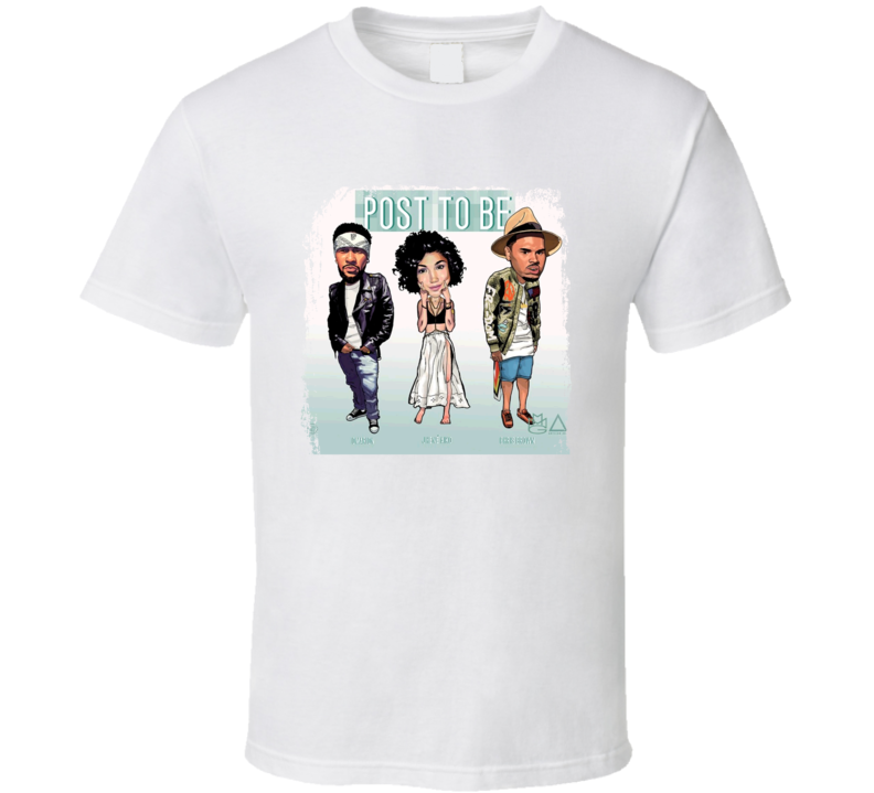 Omarion Chris Brown And Jhene Aiko Sex Playlist Worn Look T Shirt