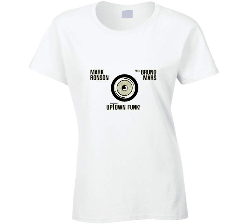 Mark Ronson And Bruno Mars Uptown Special Worn Look T Shirt