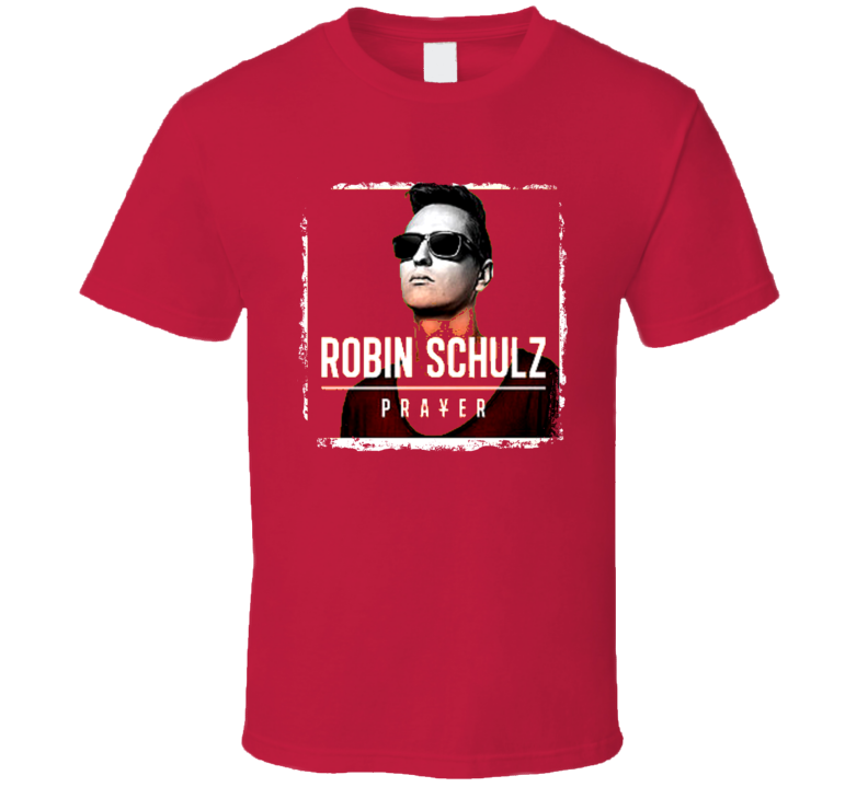 Lillywood And Robin Schulz Prayer Worn Look Album Cover T Shirt