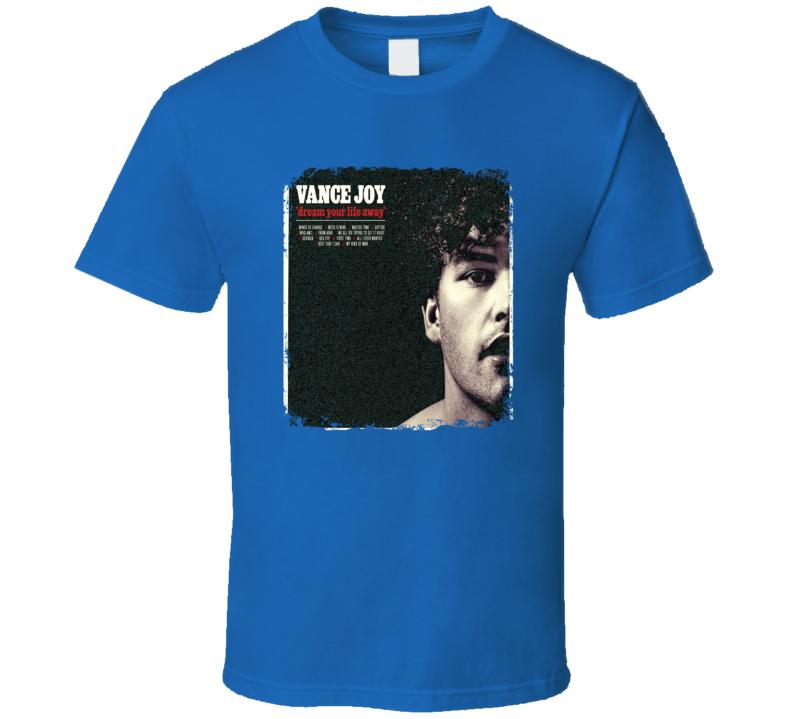 Vance Joy Dream Your Life Away Worn Look Album Cover T Shirt