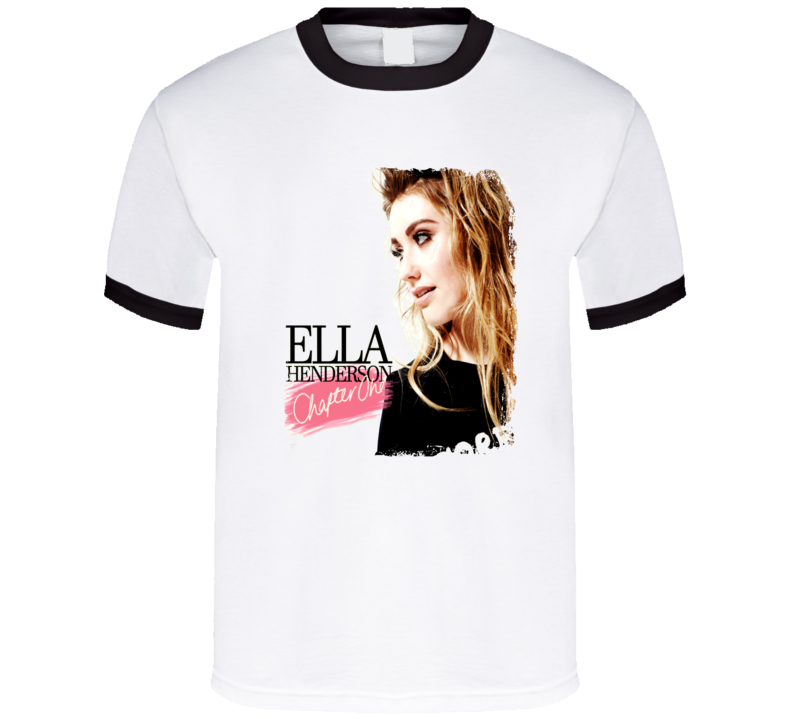 Ella Henderson Chapter One Worn Look Album Cover T Shirt
