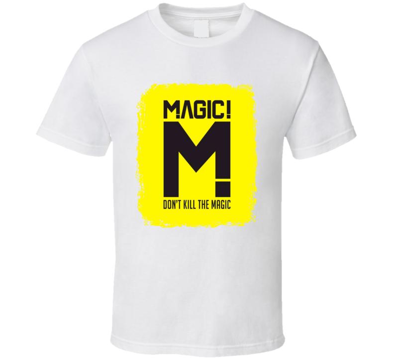 Magic Don t Kill The Magic Worn Look Album Cover T Shirt