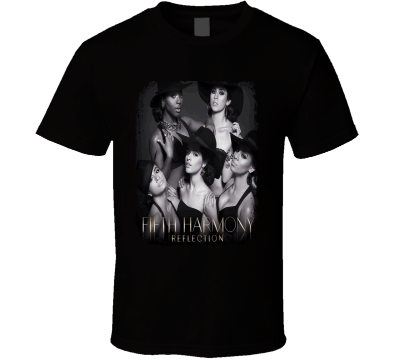 Fifth Harmony Reflection Worn Look Album Cover T Shirt