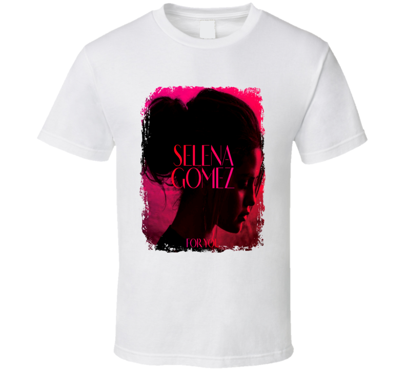 Selena Gomez For You Worn Look Album Cover T Shirt