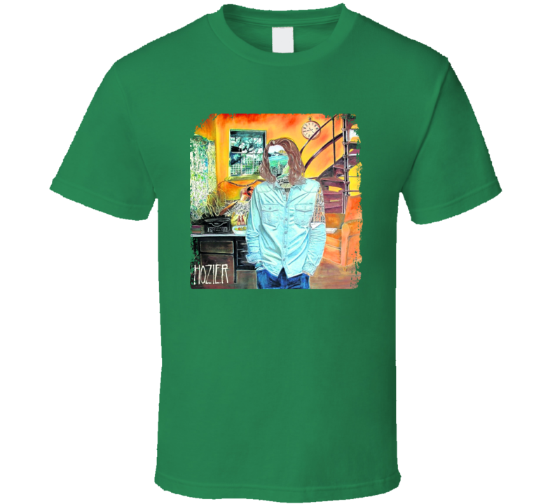 Hozier Worn Look Album Cover T Shirt
