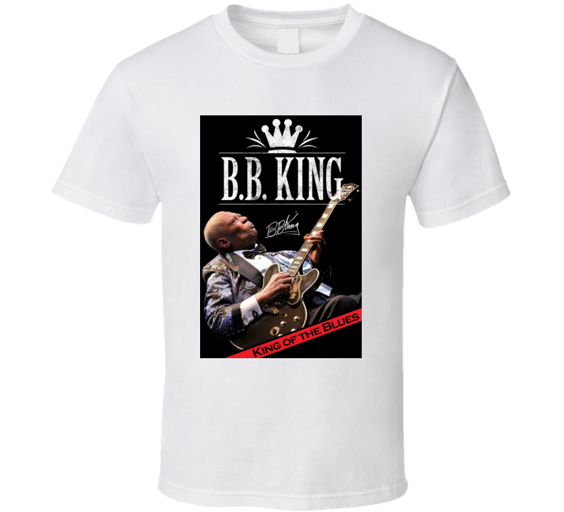 BB King Of The Blues T Shirt