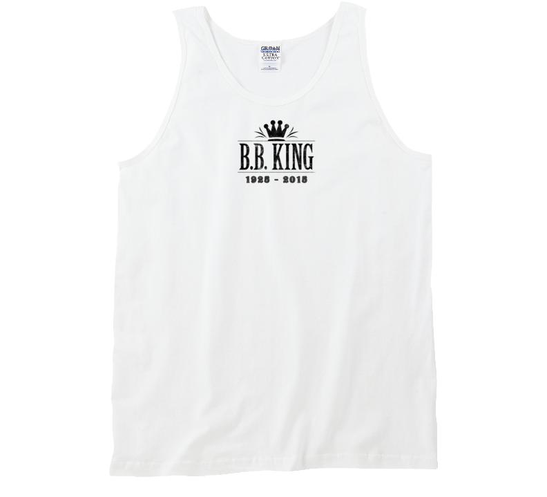 B.B. King of Blues Memorial Tribute Aged Look Tank Top Tanktop