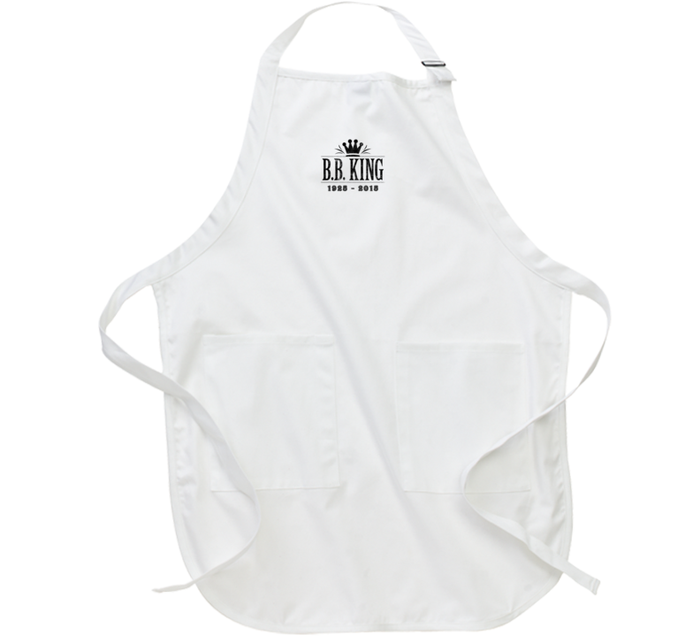 B.B. King of Blues Memorial Tribute Aged Look Barbecue Apron