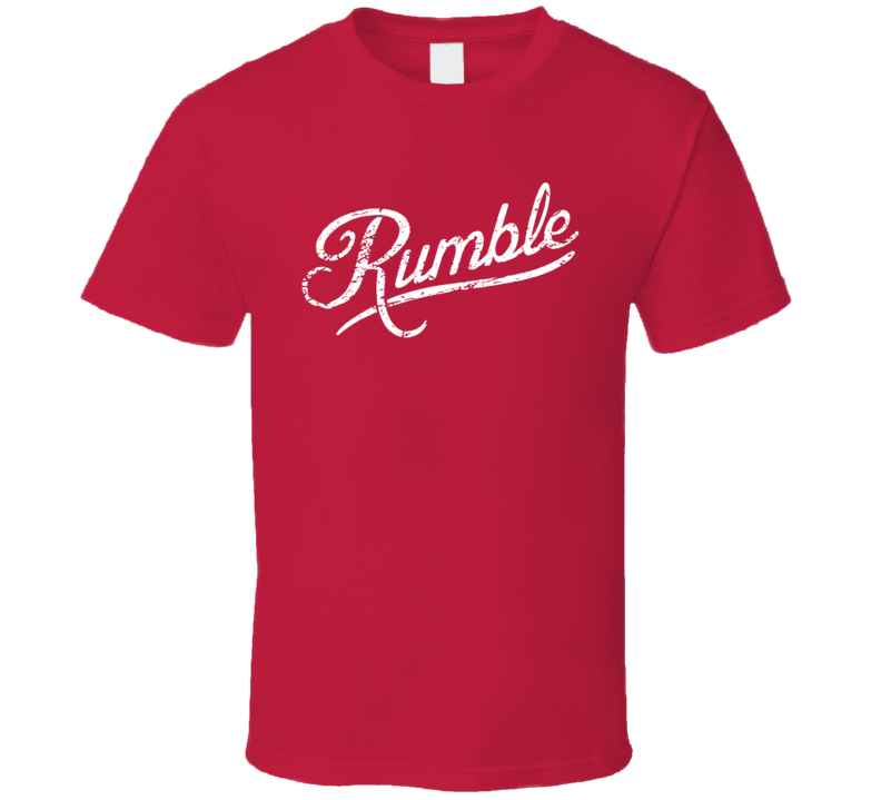 Anthony Rumble Johnson Walkout Gustafsson Fight Fan Red T Shirt