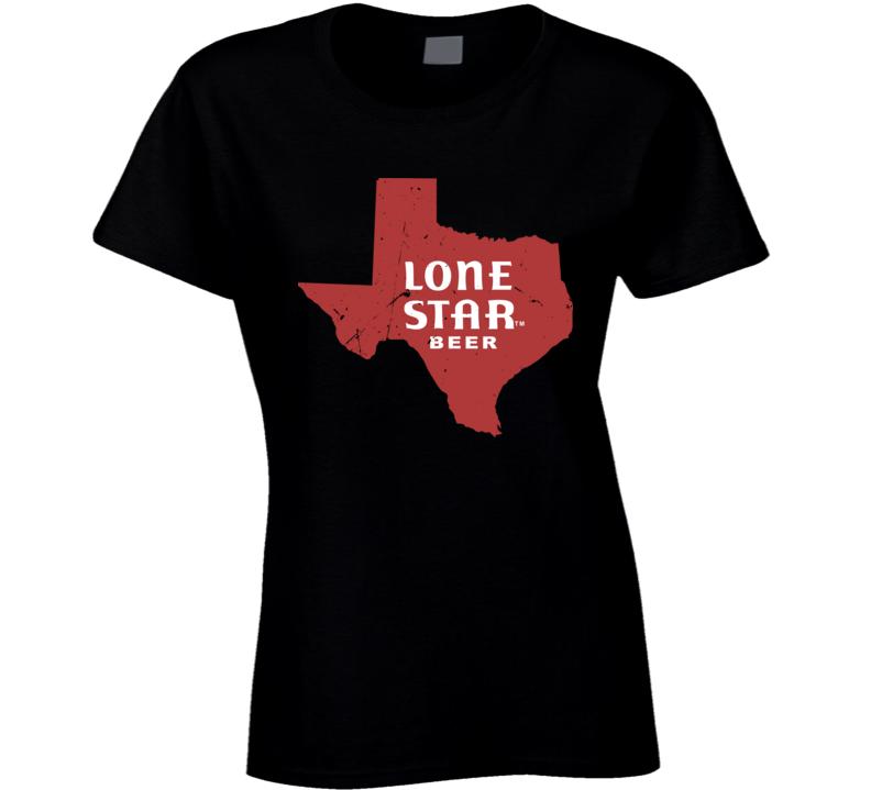 Beyonce Instagram Music Fan Vintage Texas Beer Logo Ladies T Shirt