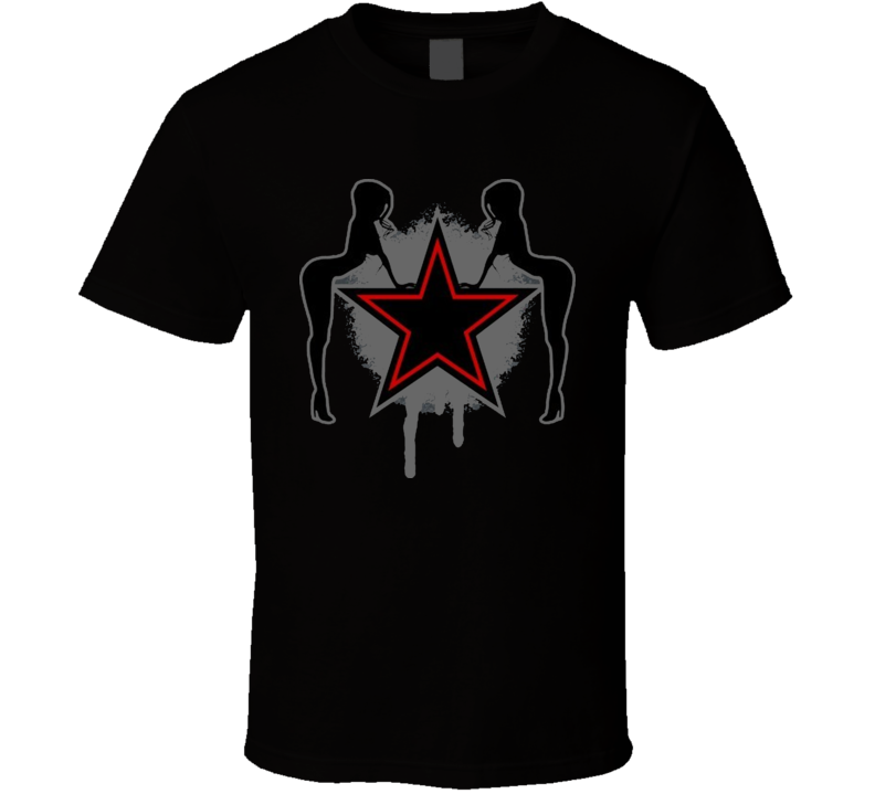 Easy Sleazy Star Girls T Shirt