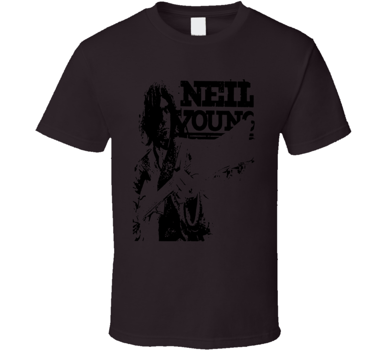 Neil Young Musician T Shirt