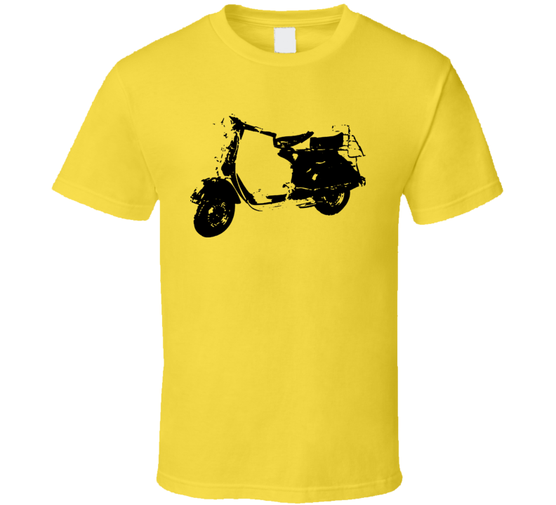 Vintage Vespa Scooter Retro T Shirt