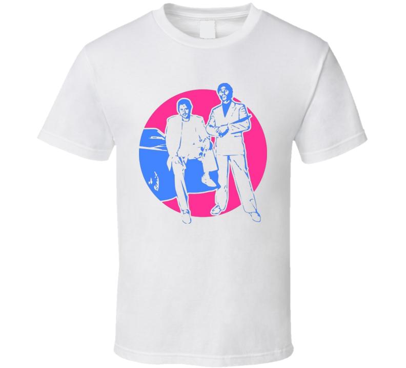 Miami Vice Crockett and Tubbs T Shirt