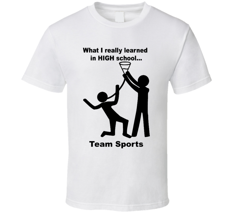 What I really Learned in High School Funny T Shirt