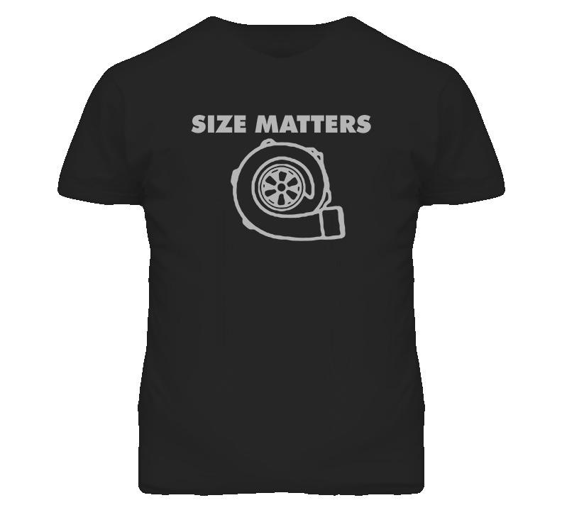 Size Matters Racing T Shirt