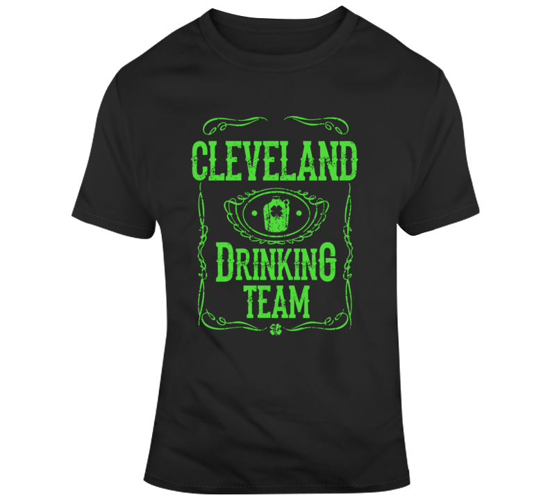 Cleveland Drinking Team T Shirt