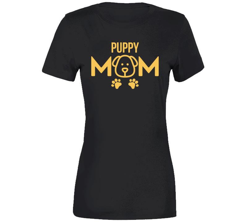 Puppy Mom T Shirt
