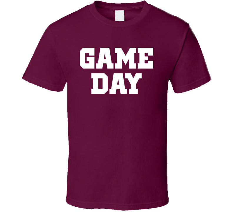 Game Day Sports Tailgaiting Fan BBQ Classic T Shirt