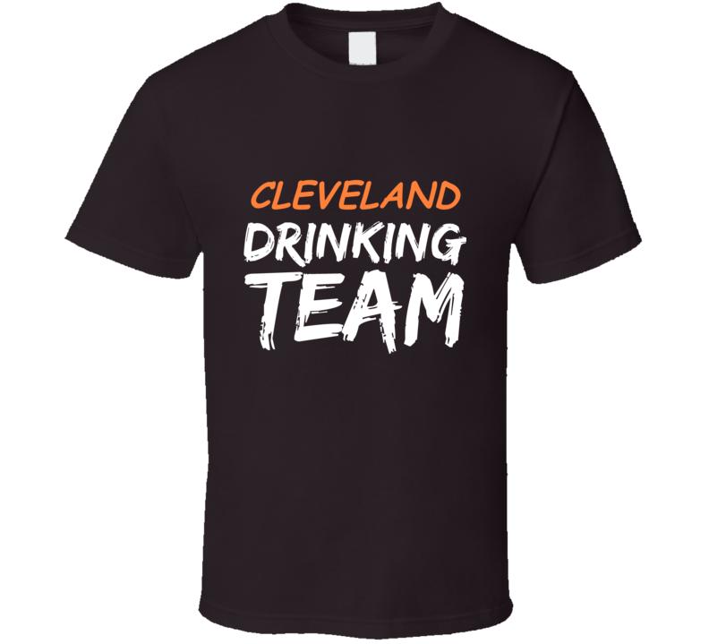 Cleveland Drinking Team T Shirt