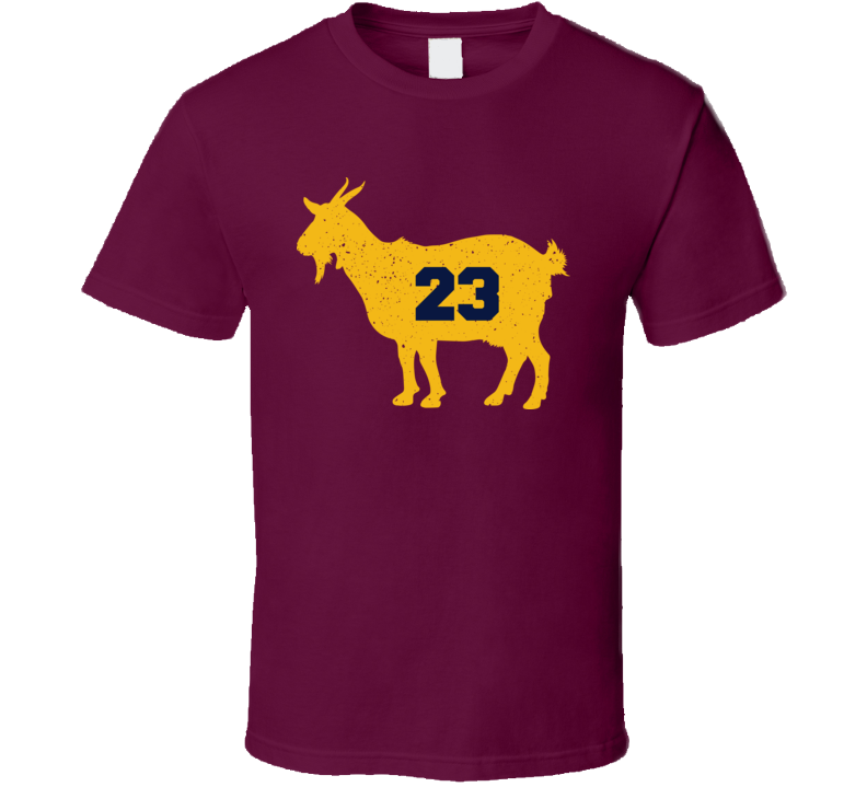 GOAT Lebron James 23 Clevelenad Basketball Greatest Classic T Shirt