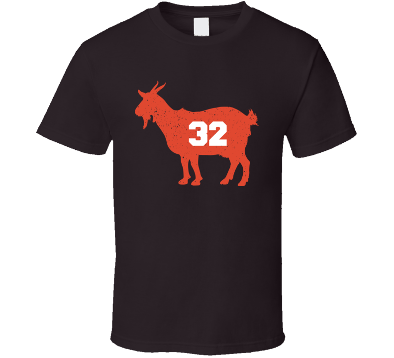 GOAT Jim Brown 32 Clevelenad Football Greatest Classic T Shirt