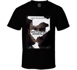 Aaron Taylor-Johnson Nocturnal Animals t shirt
