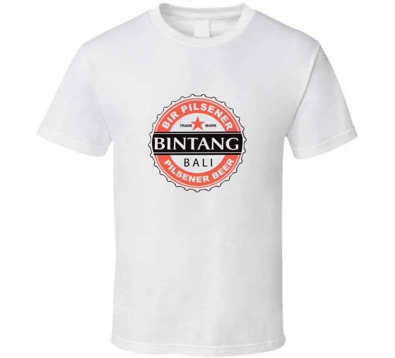 Bintang Bali Pilsener Beer Logo Promo T-Shirt Men