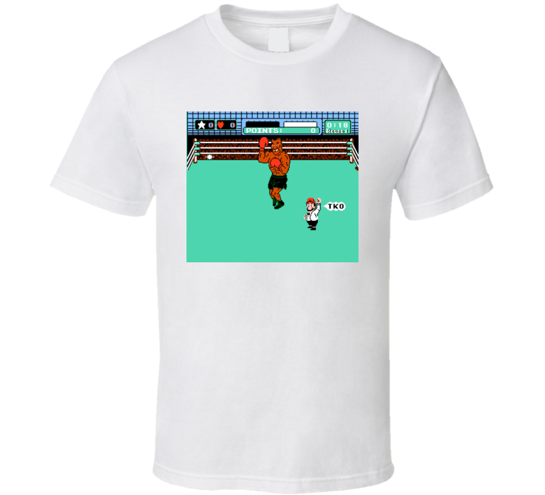 Mike Tyson PunchOut Video Game T-Shirt