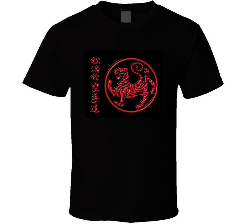 Shotokan Karate Do Tiger Logo Martial Art T-Shirt