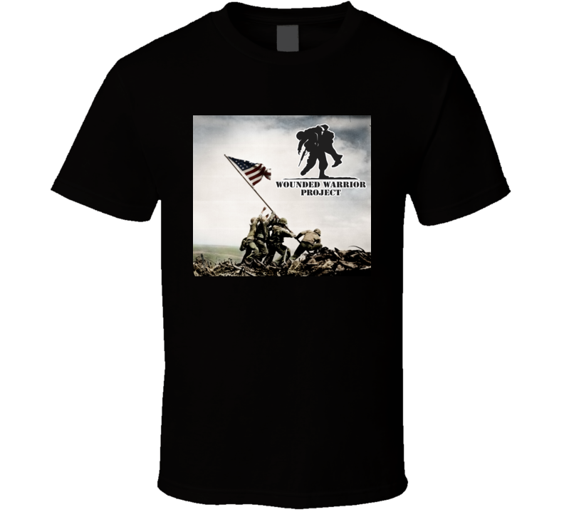 Wounded Warrior Project WWP T-shirt b