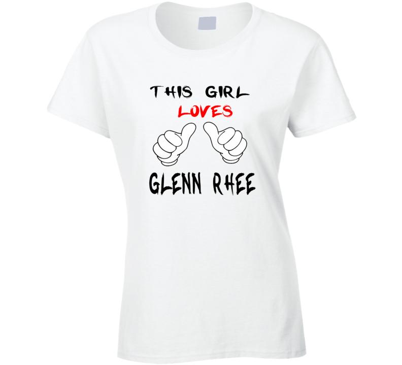 This Girl Glenn Rhee The Walking Dead T Shirt