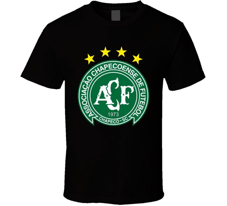 Chapecoense FC Brazilian Football Memorial Tribute Shirt