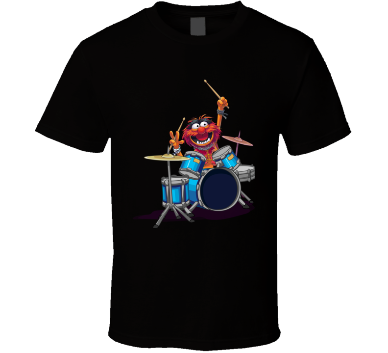 Animal Muppets Drummer Rock T Shirt