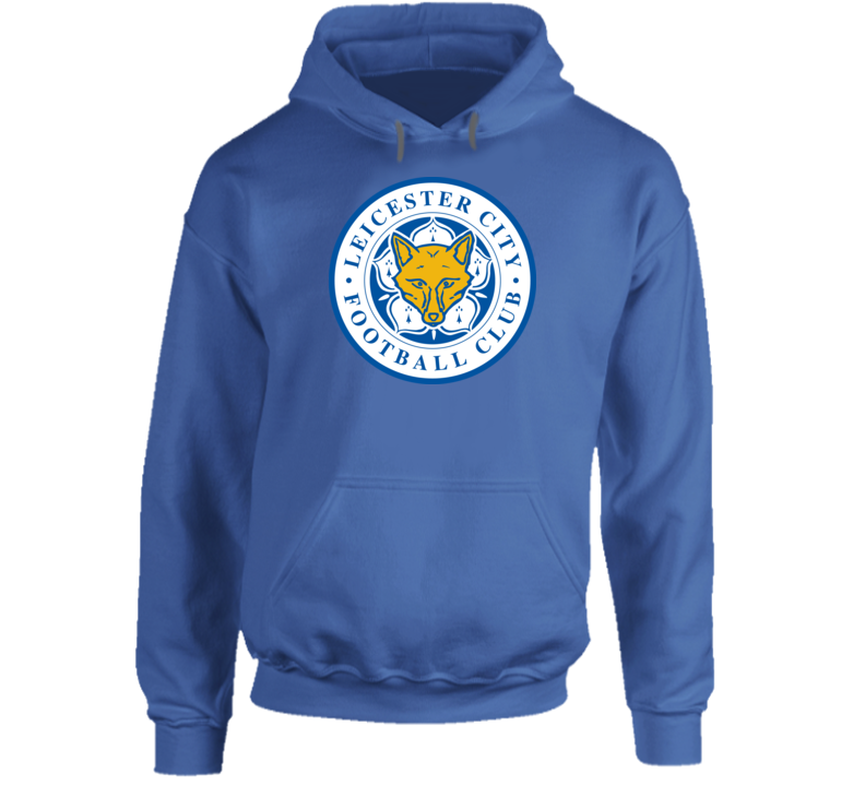 Leicester City Wolves Blue Sweater Soccer EPL Football All Sizes Hoodie
