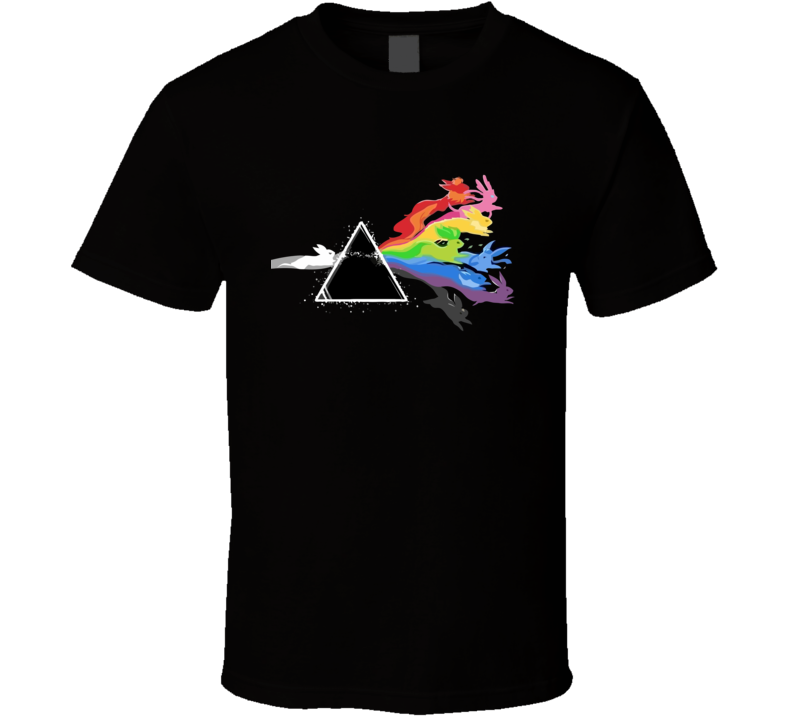 Dark Side of the Moon Stone Pokemon T Shirt