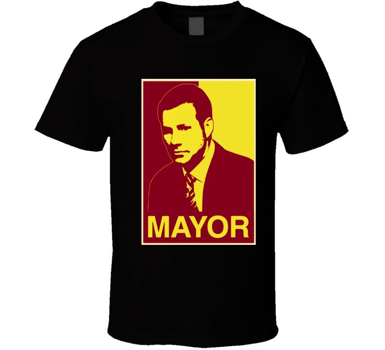 Fred Hoiberg Mayor Hope Style Iowa State Basketball T Shirt