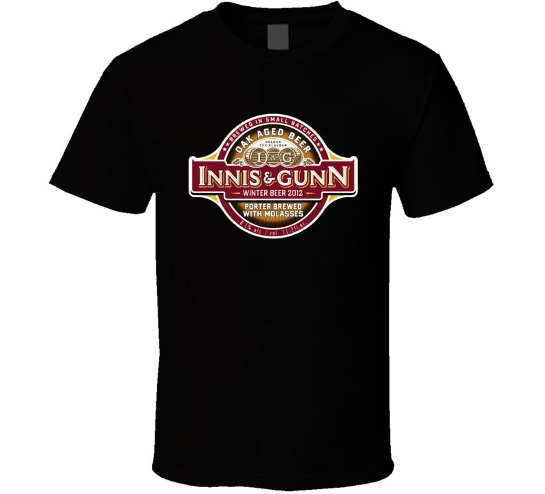 Innis And Gunn Scotish Beer Ale British Alcohol T Shirt