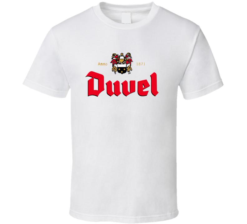 Duvel Belgium Beer Ale Drinking T Shirt