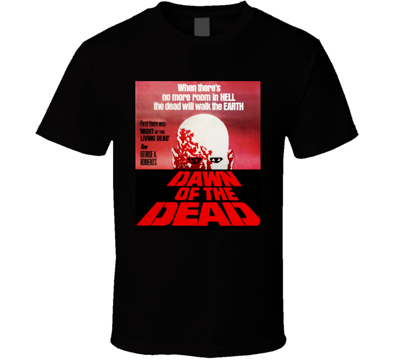 Dawn of the Dead Movie Vintage T shirt