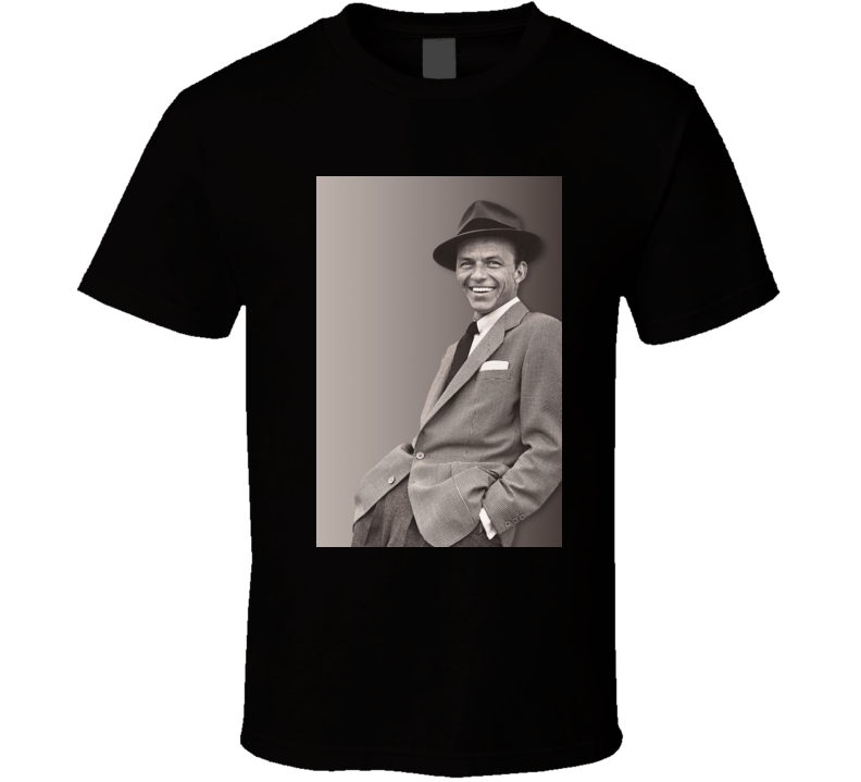 Frank Sinatra Young At Heart t shirt