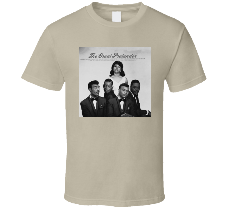 Platters The Great Pretender t shirt