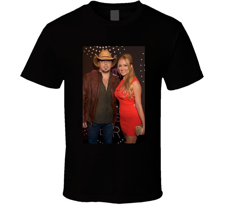 Jason Aldean Brittany Kerr  Take A Little Ride t shirt