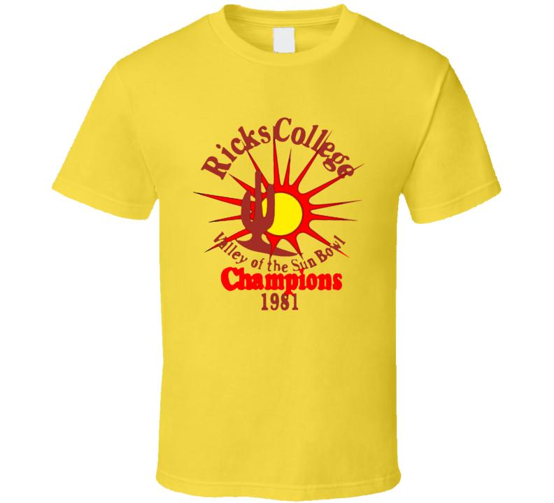 rick college tee T Shirt
