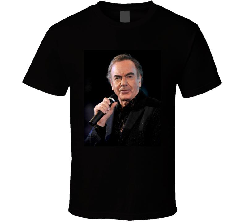 Neil Diamond Cracklin' Rose t shirt