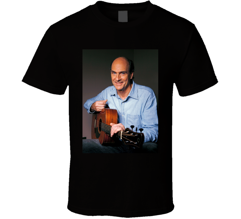 James Taylor	Fire And Rain T Shirt