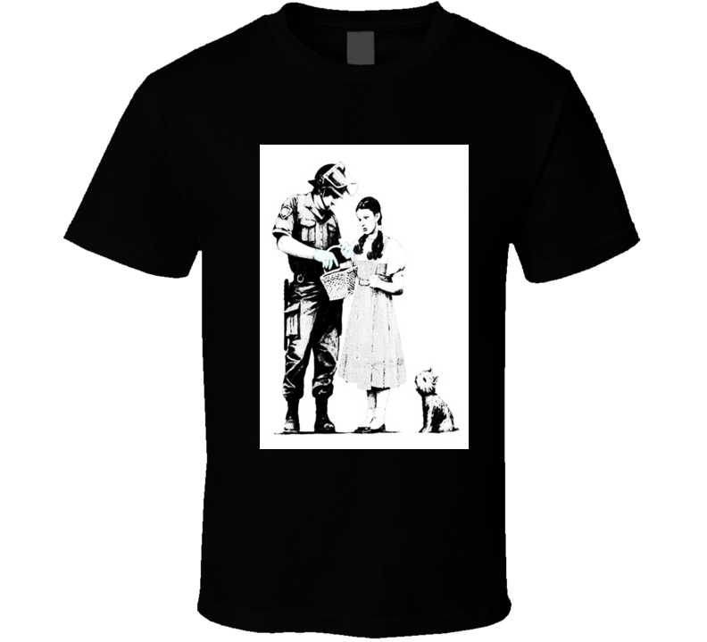 Banksy Police Officer T Shirt