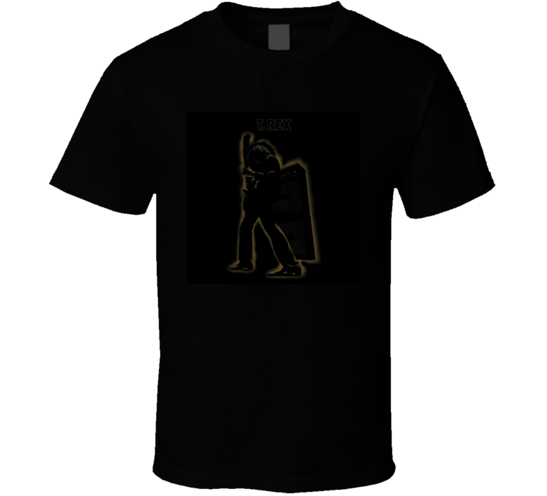 T Rex Electric Warrior Album T Shirt